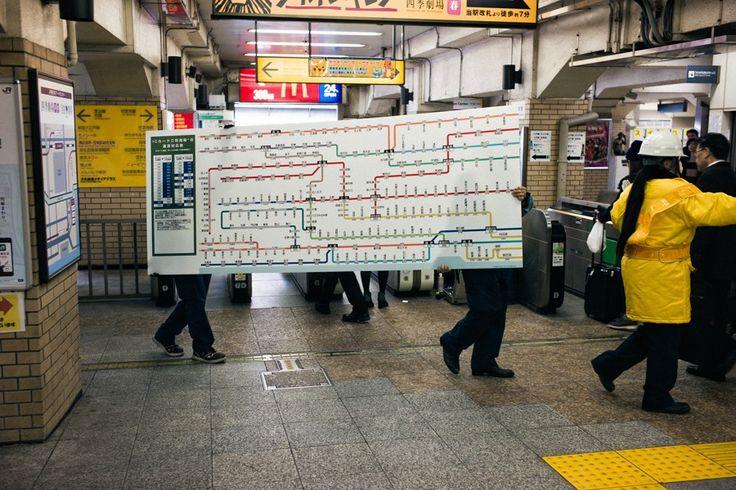 Sorry, you'll never walk alone. | Hamamatsucho, Tokyo, 2014