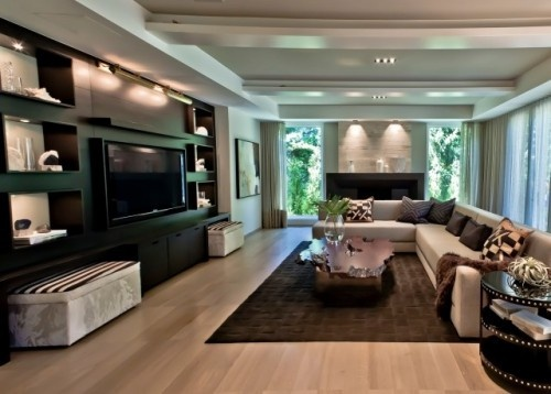 nice living rooms tv area home theater modern living 10021