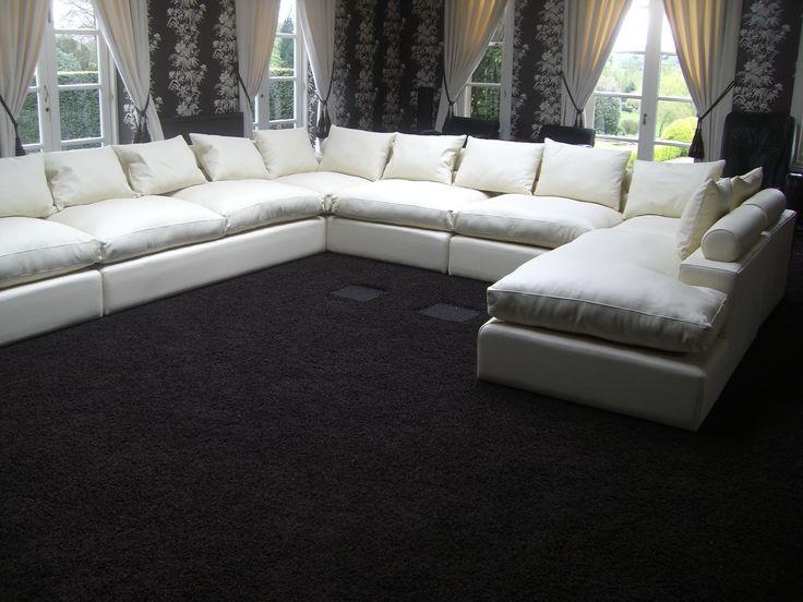 1000 images about u shape sofas on pinterest modular. Black Bedroom Furniture Sets. Home Design Ideas