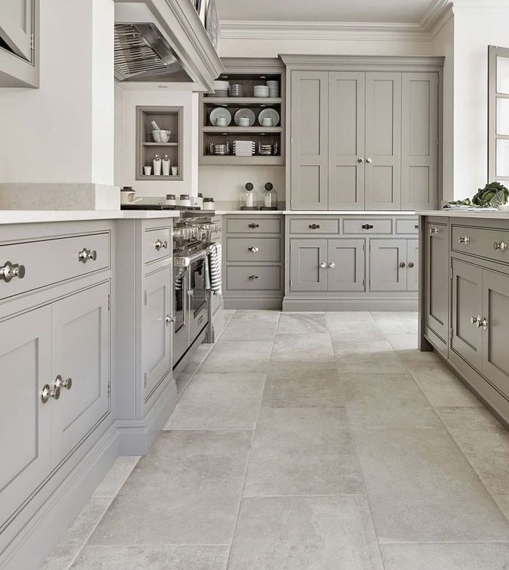 23 White Kitchens Without Wood Floors Down Leah S Lane In 2020 Classy Kitchen Grey Kitchen Designs Kitchen Renovation