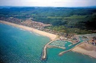 Narbonne plage, France