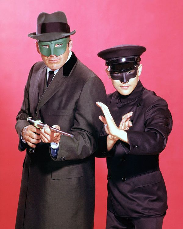 It's the Green Hornet and his faithful sidekick Kato (Bruce Lee) from their 1960s television series. Enjoy this unstoppable pose on a gallery print. Ready for framing. - Ships only within the United S