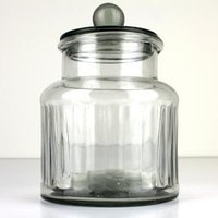Denmark sweet 19 glass jar with drop lid- lg - Lifestyle Home and Living