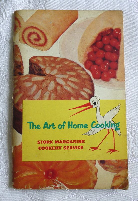 """The Art of Home Cooking"" (Stork Margarine Cookery Service, 1954) (SOLD) - www.vanishederas.com"