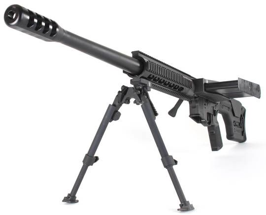 Tactilite T2 : Magazine-Fed .50 BMG Upper Receiver for AR-15s - The Firearm Blog
