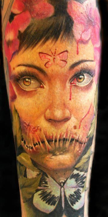 Alex De Pase: Awesome Tattoo, Ass Tattoo, Alex De, Tattoo Artists, Body Art, Faces Tattoo, Inkr Tattoo, Alex O'Loughlin, Artists Alex