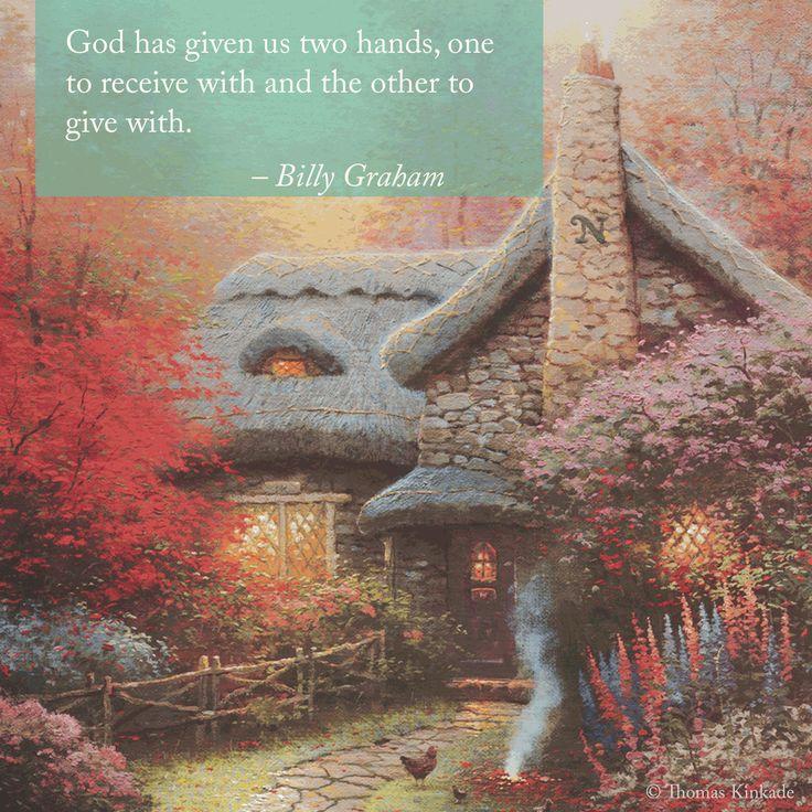 """Sunday Inspiration. """"Share the Light."""" """"Autumn at Ashley's Cottage"""" -Thomas Kinkade  https://thomaskinkade.com/shop/limited-edition-art/memories/autumn-at-ashleys-cottage-limited-edition-art/"""