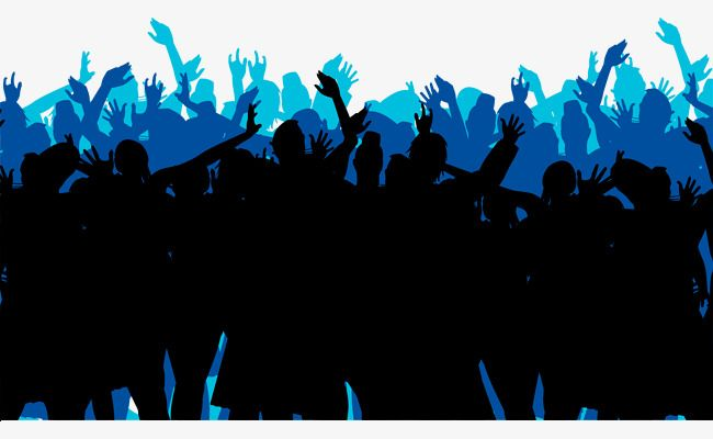 Cheering Crowd Vector Material Cheering Crowd Crowd Silhouette Figures Png Transparent Clipart Image And Psd File For Free Download Clipart Images Clip Art Image