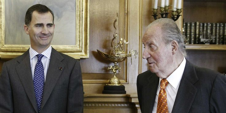 The prime minister of Spain, Mariano Rajoy, has just announced the king of Spain, Juan Carlos, 76, will unexpectedly abdicate the throne.  ...