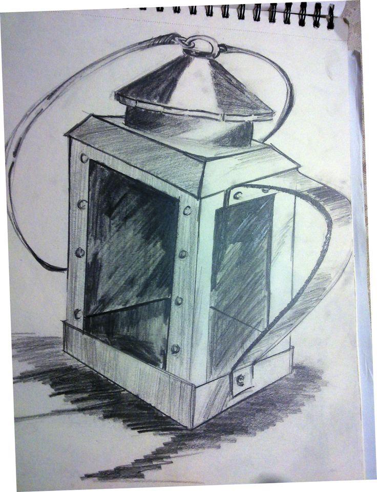 Lantern #pencil sketch