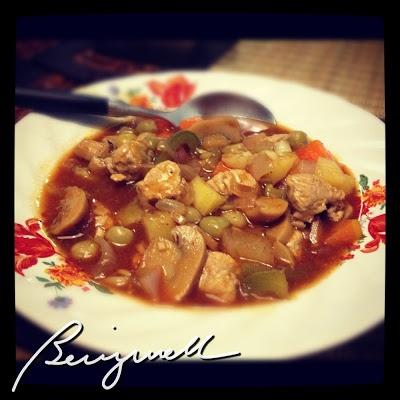 Cooking Pork Mechado #porkmechado, #cookingmechado #supereasydish