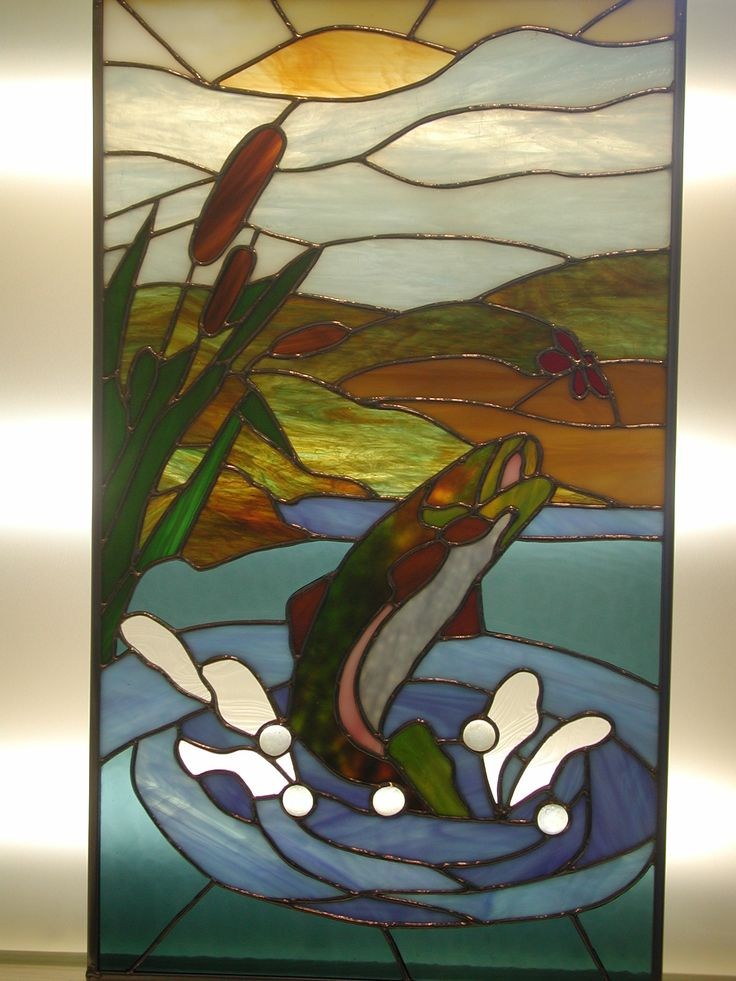 514 Best Stained Glass Fish Amp Other Marine Life Images