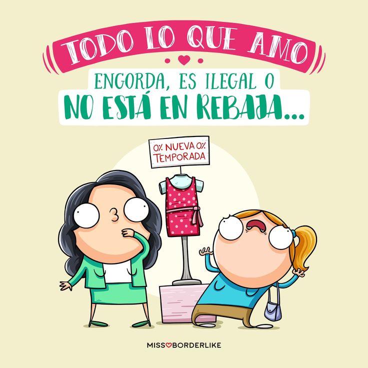 Todo lo que amo engorda, es ilegal o no está en rebaja...