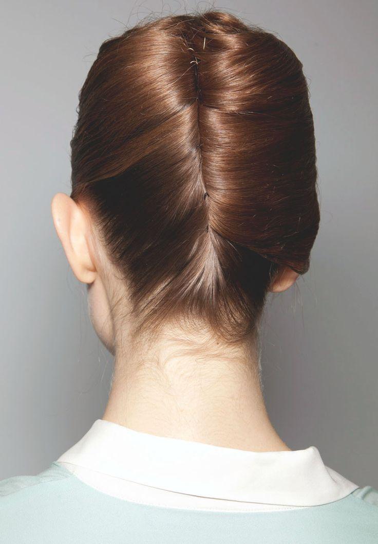 Very elegant!: Hair Ideas, Rachel Comey, Hair Colors, French Twists, Long Hair, Girls Hairstyles, Hair Style, Hairstyles Ideas, Braids Hair