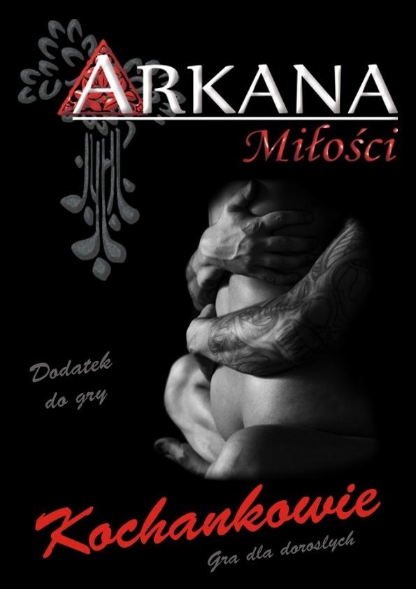 Oto pierwszy, długo oczekiwany dodatek do gry Arkana Miłości – Kochankowie. Stanowi on ostrzejsze rozszerzenie talii podstawowej adresowane przede wszystkim dla par.