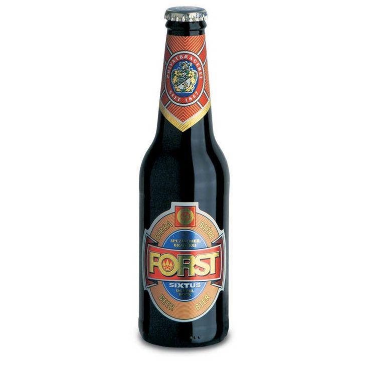 Beer Sixtus Doppelbock, Forst, Italy.
