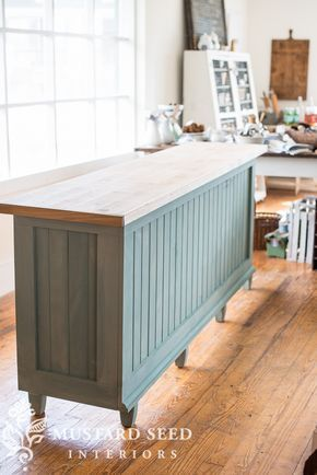 Wooden top with front the same colour as the door