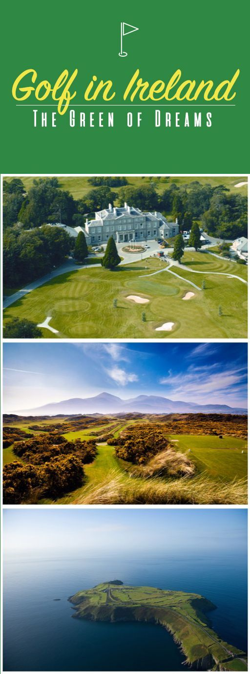 """Find out why Bill Murray calls Ireland his """"favorite place to play golf"""". Hint: when you come here, Murray says, """"you're treated like a king."""""""