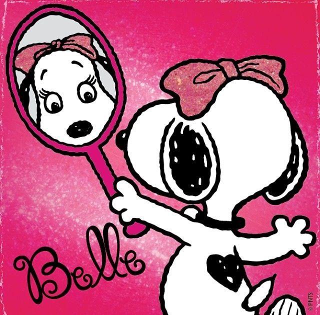 Belle, Snoopy's Girlfriend.