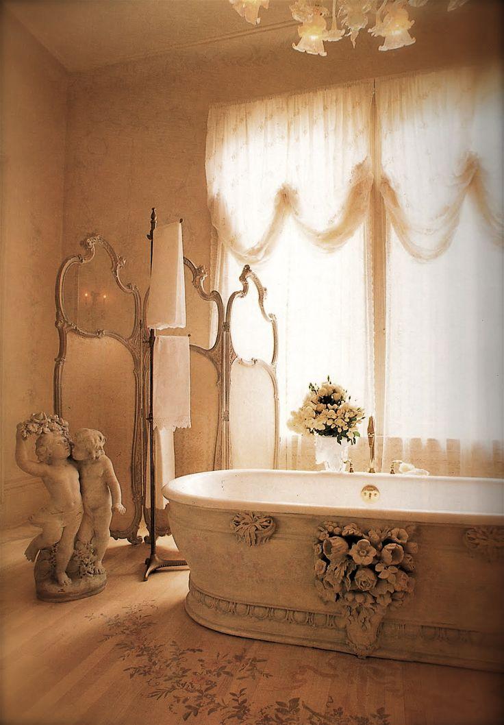 204 best Elegant Bathrooms images on Pinterest Beautiful bathrooms, Dream bathrooms and Luxury ...