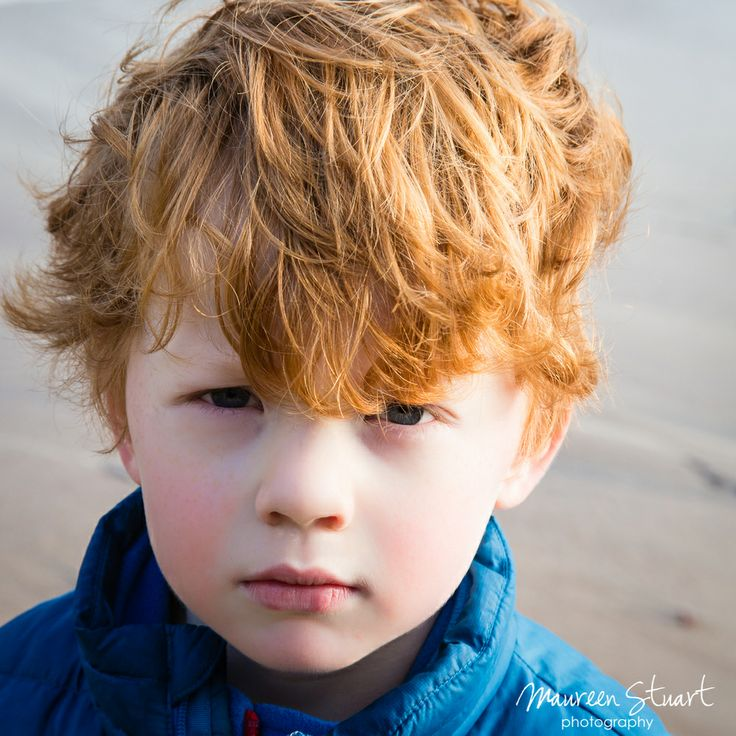 In my child portrait shoots I try to capture the children with a variety of expressions.  Often my favourite images are the ones where the children are not smiling but are engaging with the camera.  I usually think you can see the man the boy will become with this type of photo...this boy will be a heart breaker for sure... www.maureenstuartphotography.com