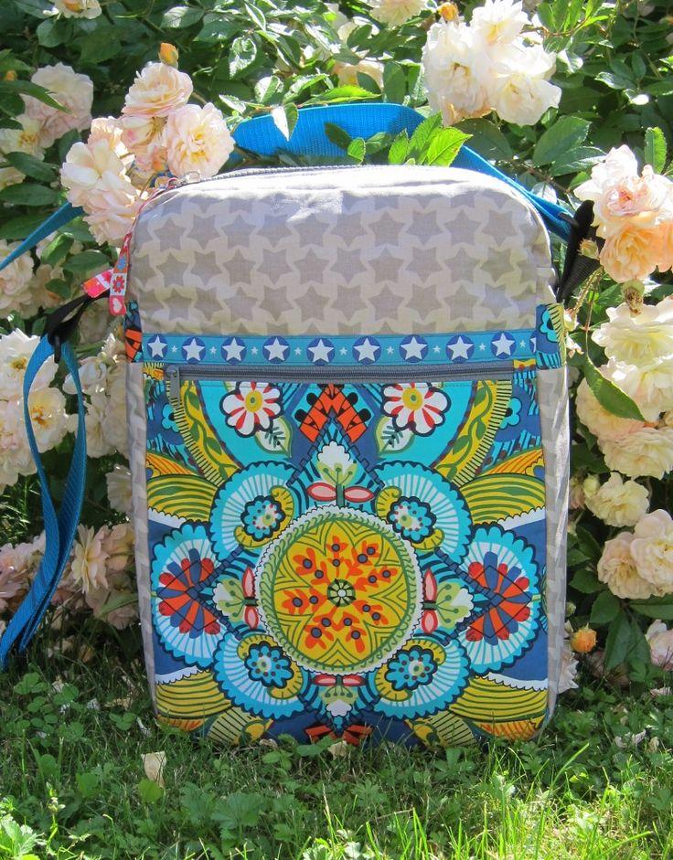 Handmade by Kathrin: Herrentasche, pattern by farbenmix.de #taschenspieler2 #farbenmix #nähen #sewing #diy #handmade #bags