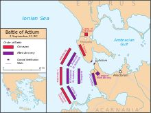 Bible times: Battle of Actium (31BC) - between Team Octavian and Team Mark Antony & Cleopatra; consolidates the Roman Empire under Octavian and sets the stage for NT events and the early church.