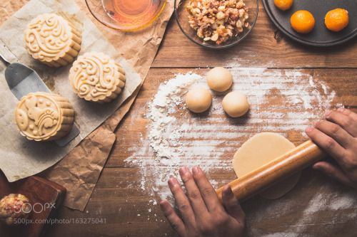 Mooncake homemade by kimtinhnv  IFTTT 500px