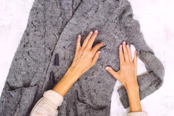 Een trui of vestje vol pluisjes, we kennen het allemaal. Maar er bestaat een makkelijke manier om van de pluistjes verlost te raken!