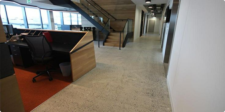Transitions Polished Concrete Floor Environmentally