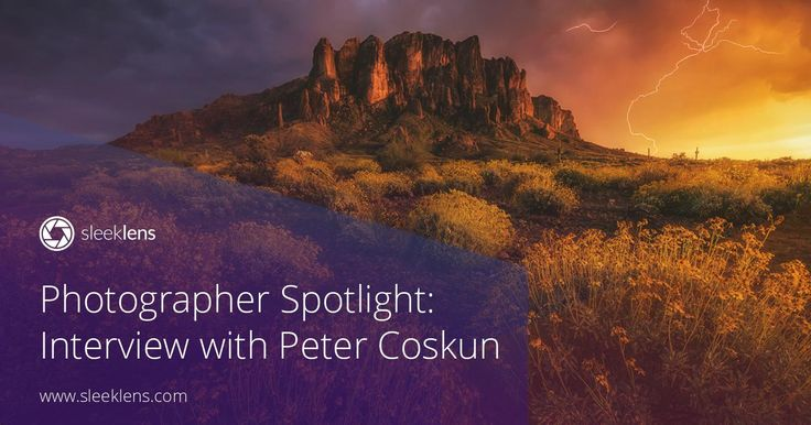 Welcome to another photographer spotlight interview! Peter Coskun is a landscape photographer from America. Get to know all his tips and tricks!