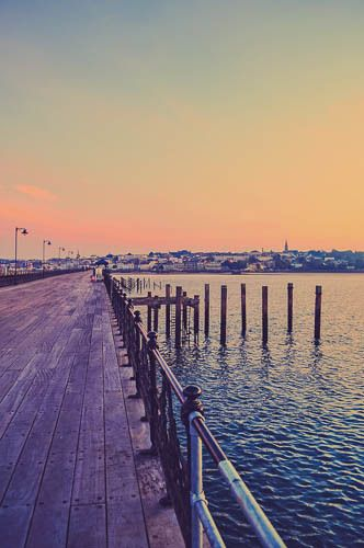 Ryde (pier), Isle of Wight, England