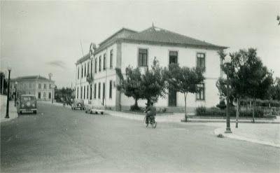 Edifício dos antigos Paços do Concelho.
