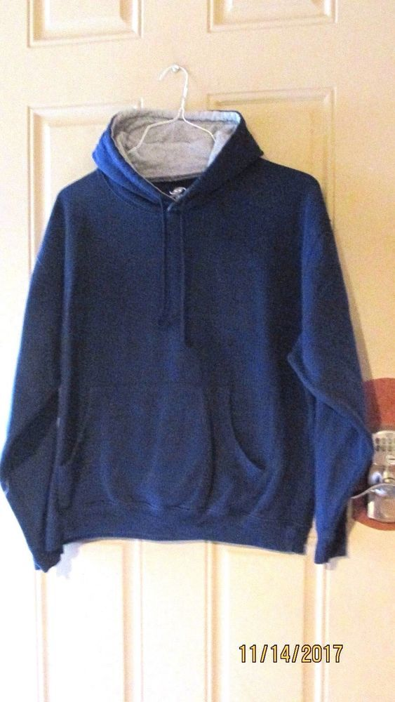 Simply for Sports Athletic Hoodie Jacket Navy Blue Large #SimplyforSports #HoodieJacket