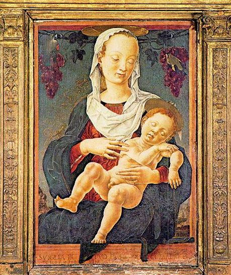 Cosme Tura - Madonna of the Zodiac