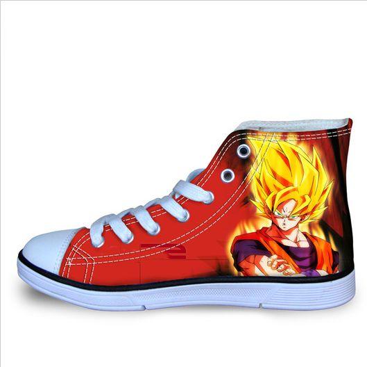 Dragon Ball Z Shoes Vegeta - Free Shipping Worldwide