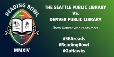 Reading Bowl update: Current score is 186 - 70, with Seattle in the lead! But there's a lot of time left on the clock. Keep reading and twee...