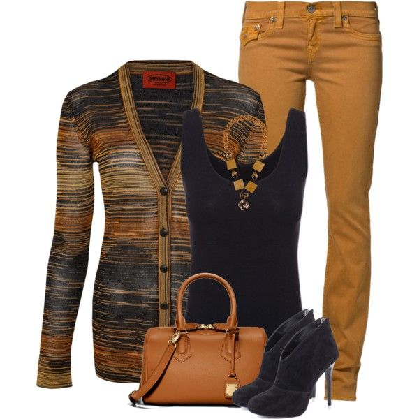 """Missoni striped cardigan"" by fashion-766 on Polyvore"