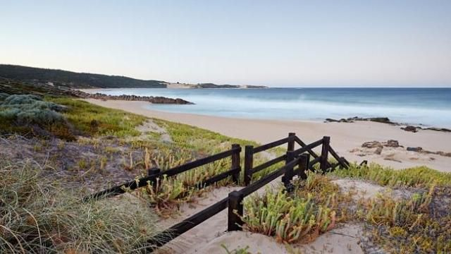 The Margaret River is home to some of Australia's most beautiful beaches.