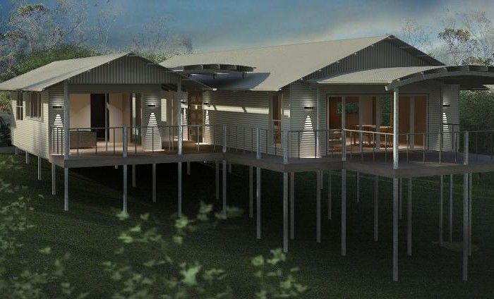 Daintree house design bush and beach homes style for Bush house designs