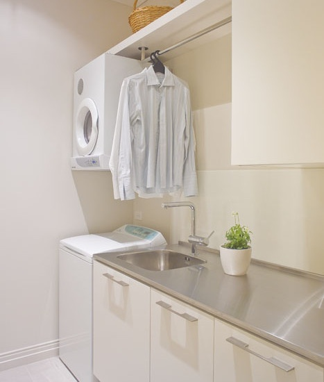 Laundry Room Under Counter Washer Dryer Design, Pictures, Remodel, Decor and Ideas - page 25