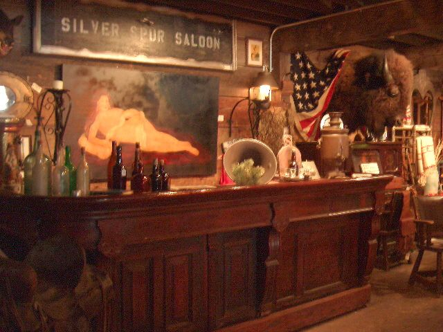 Old Western Bars 19th C Old West Saloon Bar 9 Ft X 4 Ft
