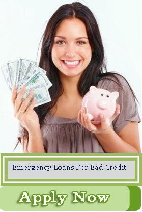 Emergency loans for bad credit are quickest financial support for all types of applicants to easily fulfill all unforeseen cash worries on time without any inconvenience. Apply now: