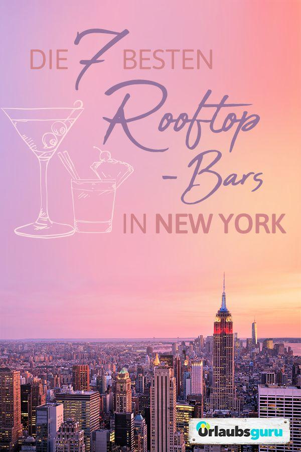 Die besten Rooftop-Bars in New York