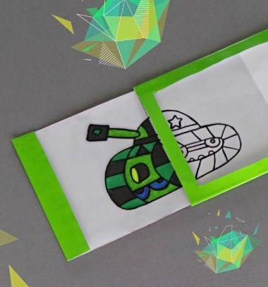 DIY easy magic gift card - self coloring magic card  // Varázs képeslap - önmagát kiszínező képeslap egyszerűen // Mindy - craft tutorial collection