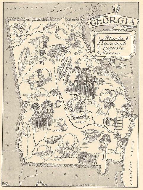 Picture Map: Georgia