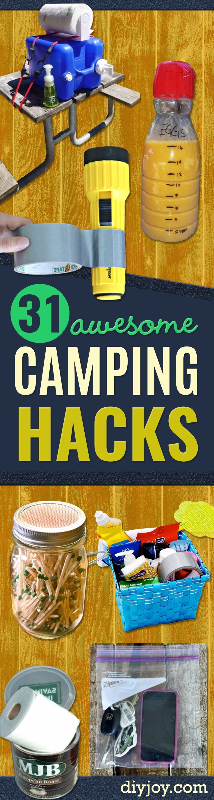 Best 25 Camping Food Hacks Ideas On Pinterest