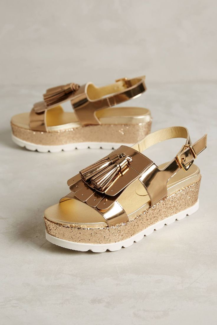 Aspec Flatforms by Jeannot #anthrofave #anthropologie