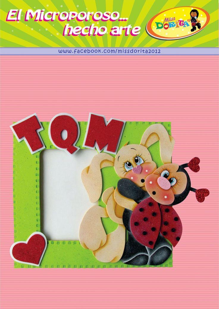 Miss Dorita: Molde de Amigos TQM