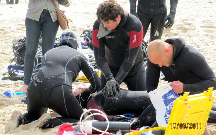 PADI Rescue Diver, Emergency First Responder and D.A.N course package